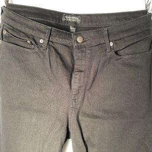 Banana Republic Curvy Fit Black Skinny Jeans - 16